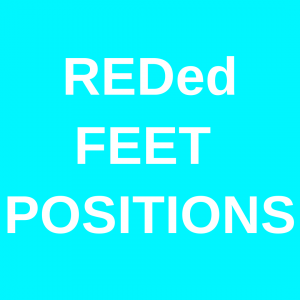 REDed Feet Positions